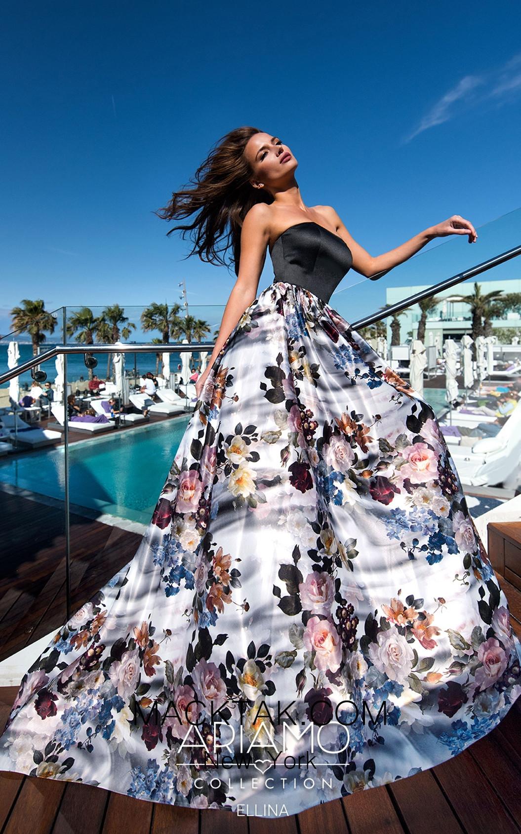 Ariamo Ellina1 Front Dress
