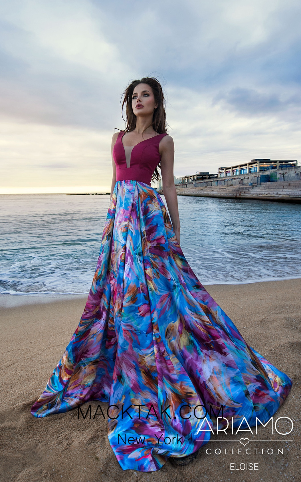Ariamo Eloise1 Front Dress