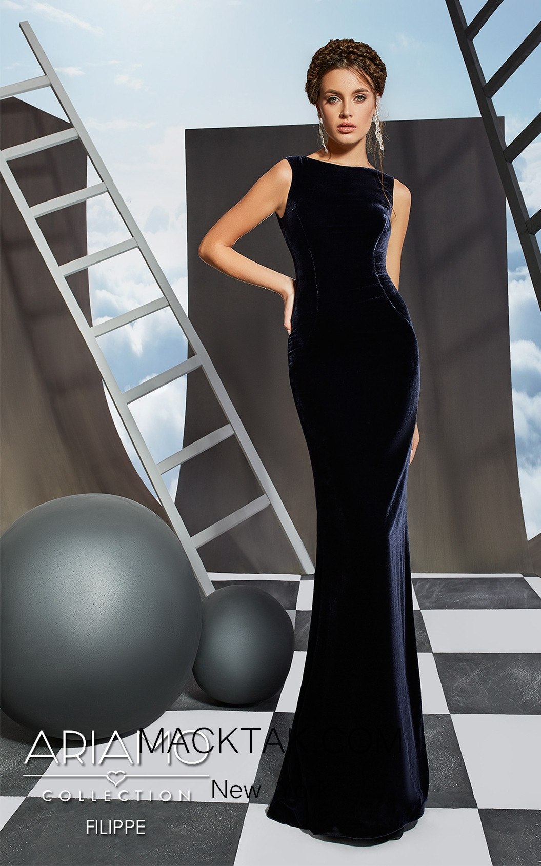 Ariamao Filippe Front Dress
