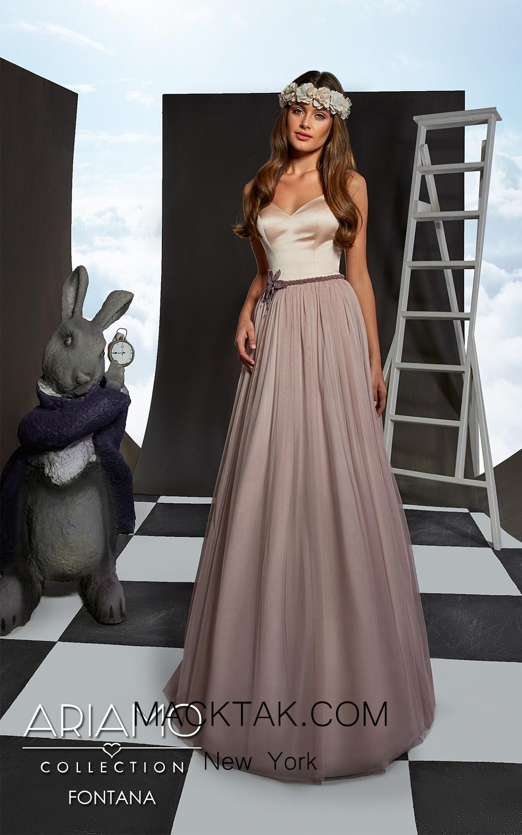 Ariamo Fontana Front Dress
