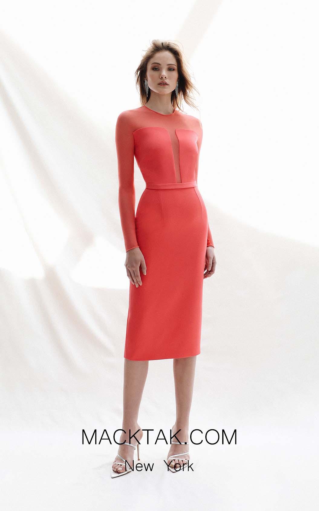 Victoria Jamaica Coral Front Dress