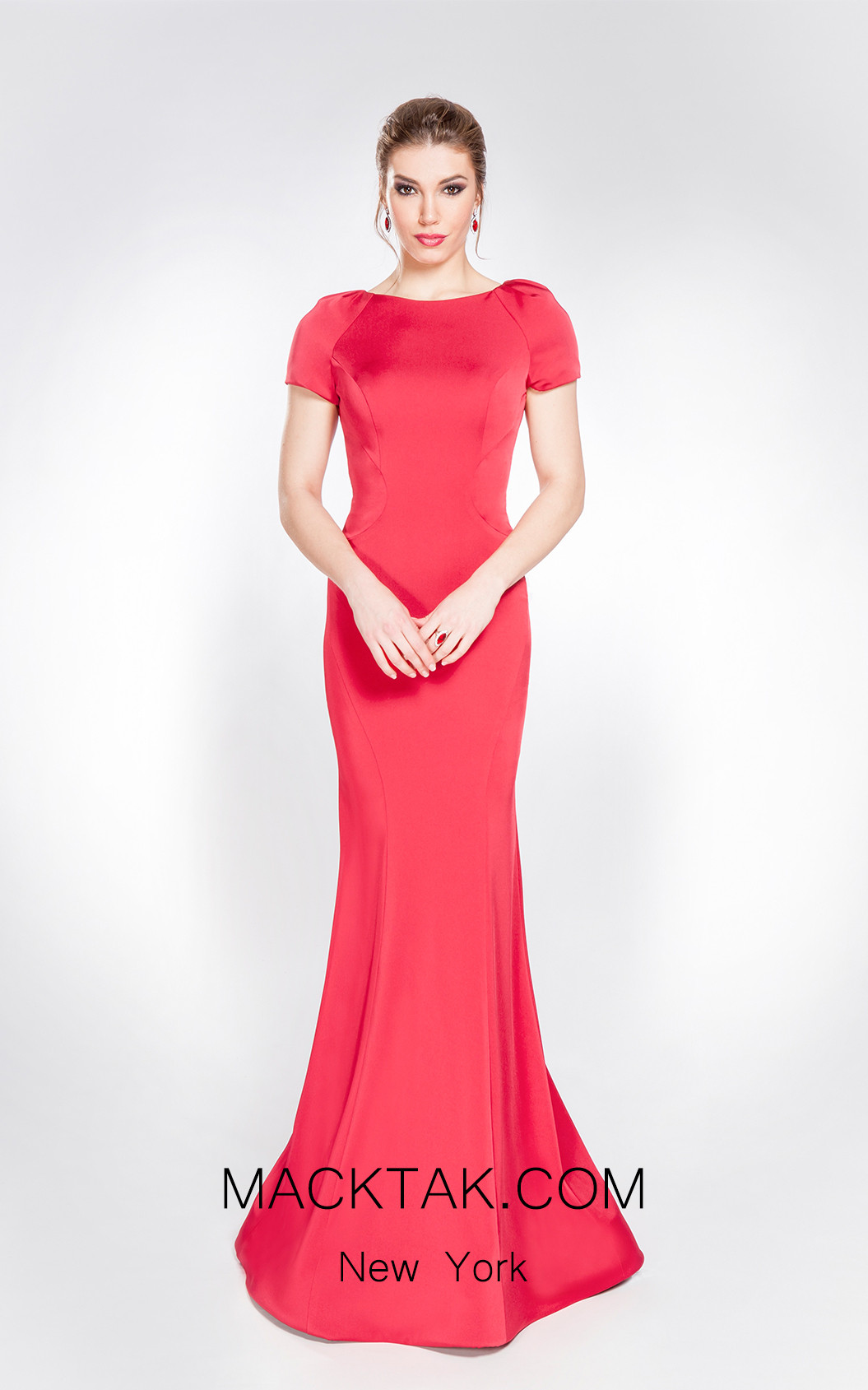 X & M Couture 49009 Front Evening Dress