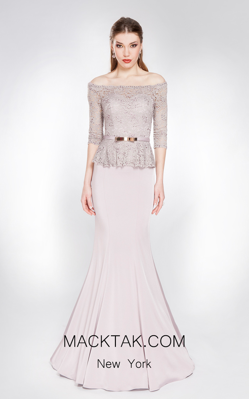 X & M Couture 49048 Front Evening Dress