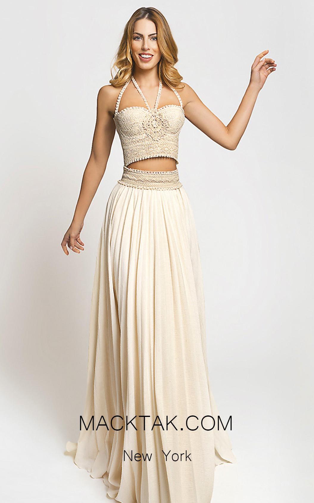 Zolotas Atelier Anemone Evening Dress