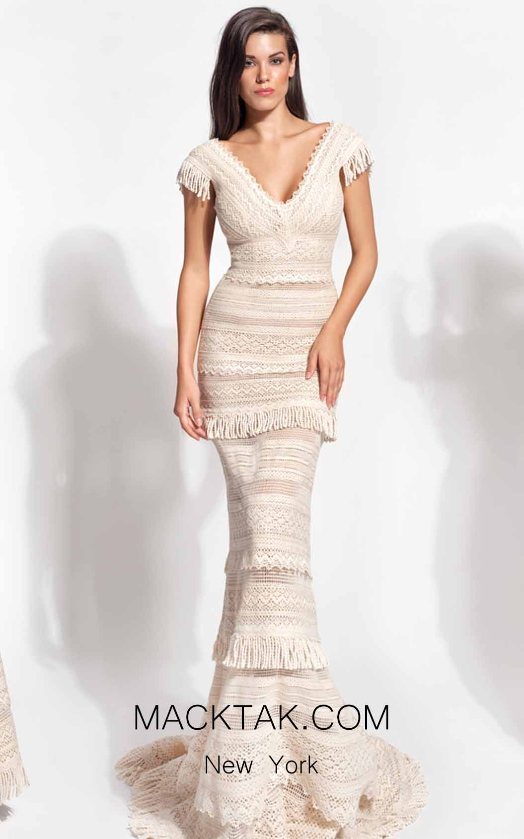 Zolotas Atelier Iliani Front Evening Dress