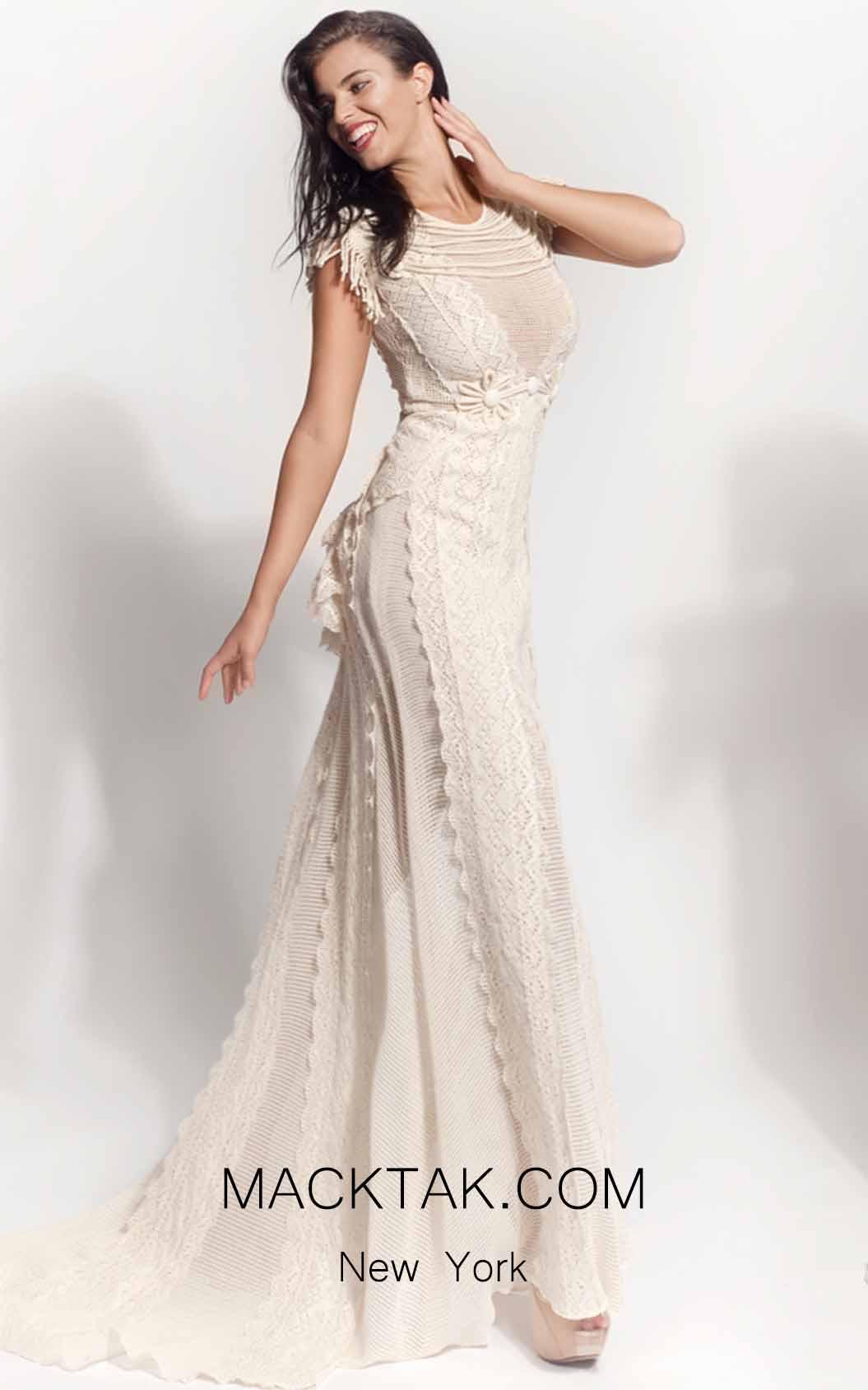 Zolotas Atelier Thelia Front Evening Dress