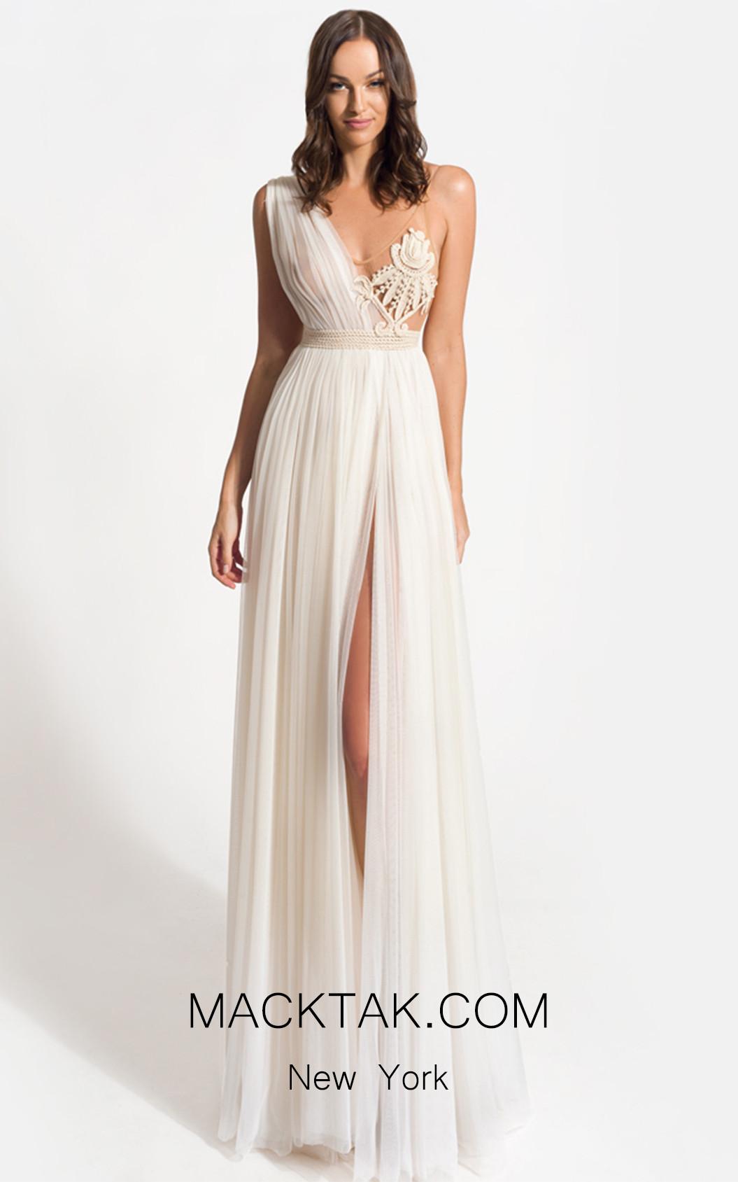 Zolotas Atelier Lyto Front Evening Dress