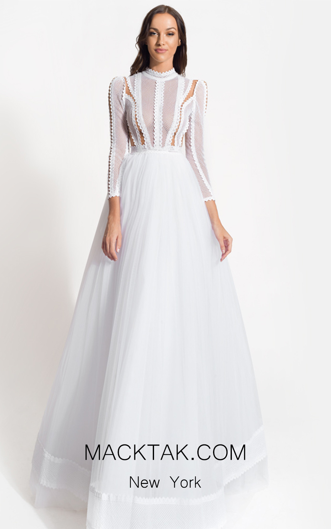 Zolotas Atelier Medeia Front Evening Dress