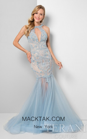 Terani 1712P2647 French Blue Front