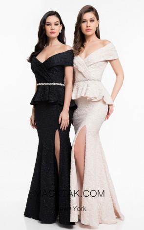 Terani 1821M7561 Front Evening Dress