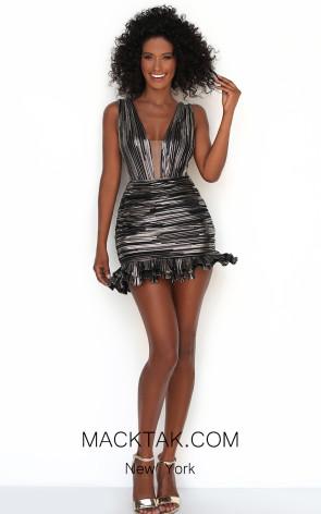 Tarik Ediz 50616 Front Dress