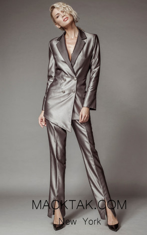 Aida Lorena SL108 Front Pantsuit Dress