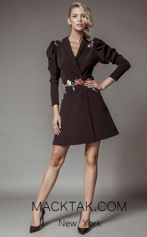 Aida Lorena SL124 Front Jacket Dress