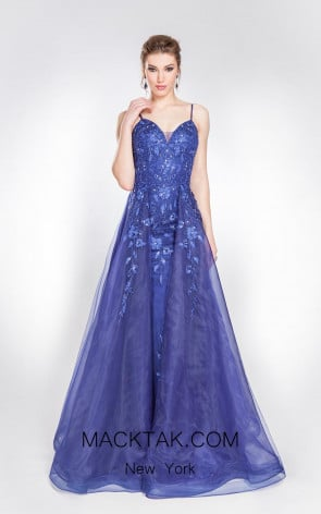 Alma Couture AC1007 Front Evening Dress