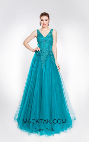 Alma Couture AC1009 Front Evening Dress