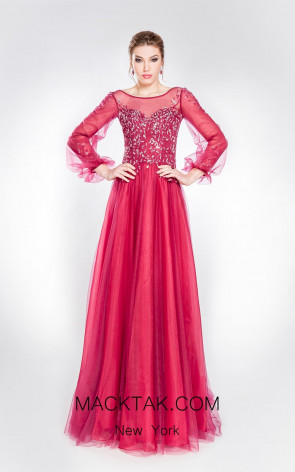 Alma Couture AC1014 Front Evening Dress