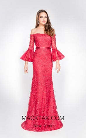Alma Couture AC1024 Front Evening Dress