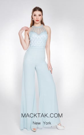 Alma Couture AC1076 Front Evening Dress