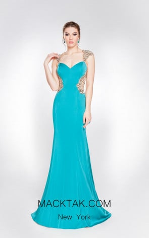 Alma Couture AC1077 Front Evening Dress