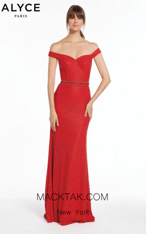 Alyce 1390 Front Evening Dress