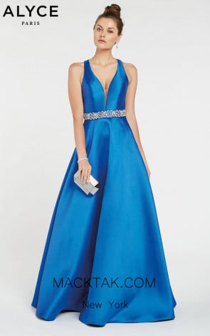 Alyce 1421 Front Evening Dress