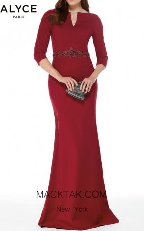 Alyce 27007 Front Evening Dress