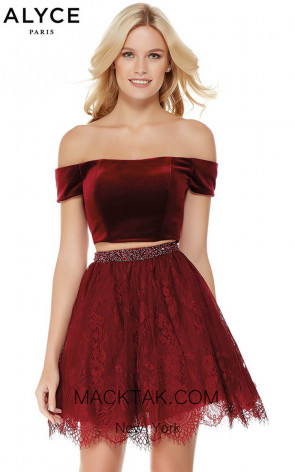 Alyce 3794 Front Evening Dress