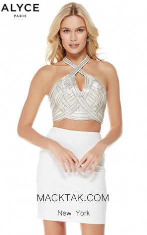 Alyce 4020 Front Evening Dress