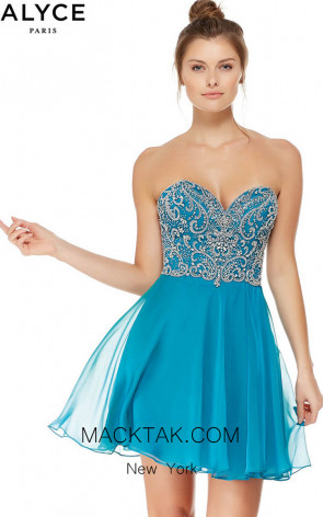 Alyce 4047 Front Evening Dress
