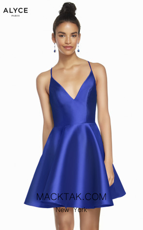 Alyce Paris 1454 Royal Front Dress