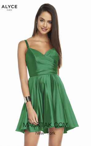Alyce Paris 1460 Envy Front Dress