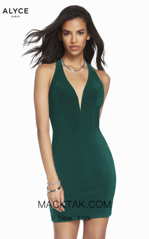 Alyce Paris 1476 Pine Front Dress