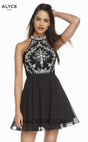Alyce Paris 1490 Front Dress