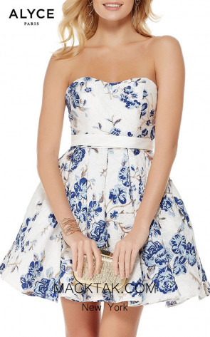 Alyce Paris 3773 Front Dress