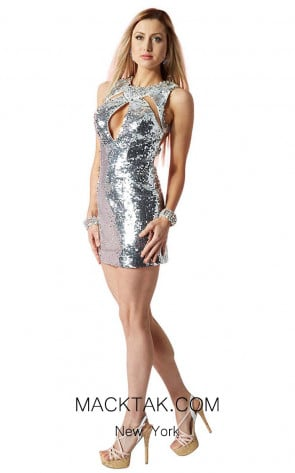 Alyce 4431 Front Dress