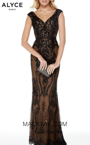 Alyce Paris 5006 Front Dress