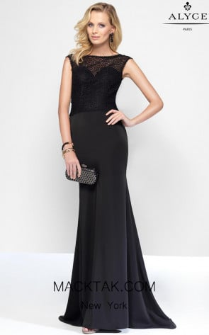 Alyce 5817 Front Dress