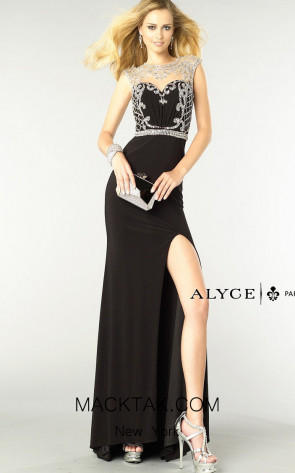 Alyce 6361 Front Dress