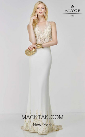 Alyce 6506 Front Dress