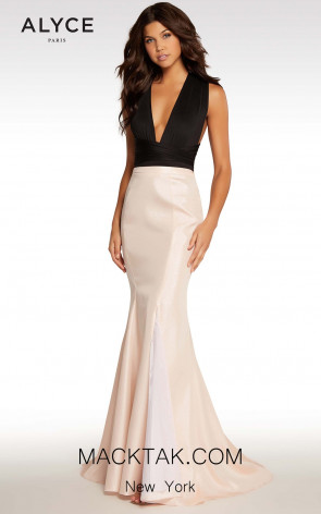 Alyce KP 108 Champagne Pink Front