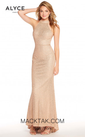 Alyce 60155 Rose Gold Front