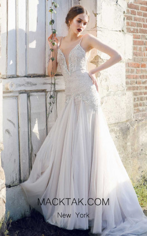 Ange Etoiles Serena Ivory Front Bridal Dress