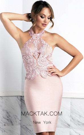 Baccio Julia Pink Front Dress