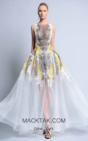Beside Couture by Gemy Maalouf BC1125D Front Dress