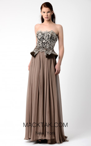 Beside Couture by Gemy Maalouf BC1058 Front Dress