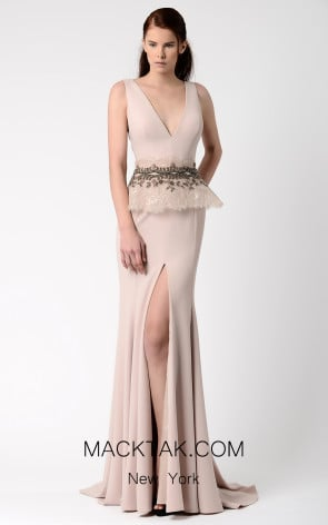 Beside Couture by Gemy Maalouf BC1063 Front Dress