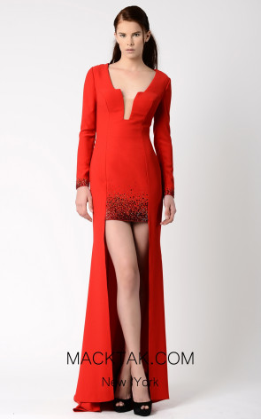 Beside Couture by Gemy Maalouf BC1084 Front Dress