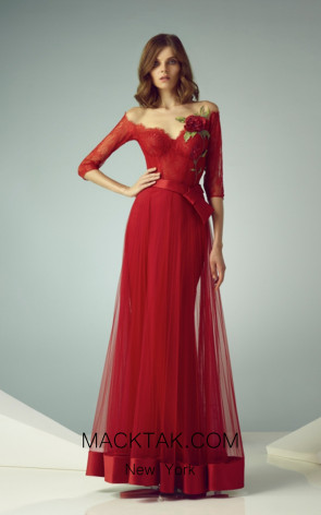 Beside Couture by Gemy Maalouf BC1202 Front Dress