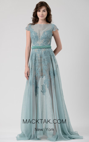 Beside Couture by Gemy Maalouf CHW1571 Front Dress