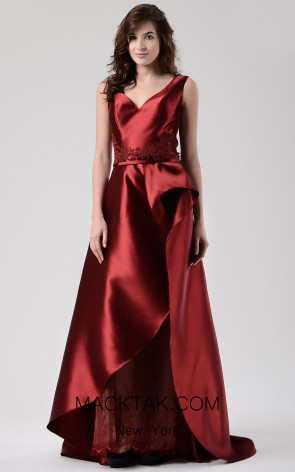 Beside Couture by Gemy Maalouf CHW1576 Front Dress